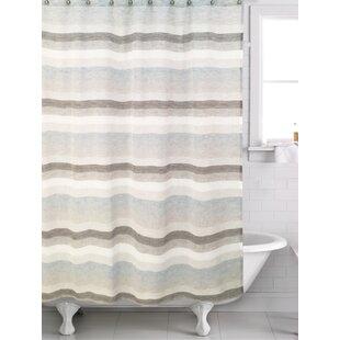 Filler Horizon Shower Curtain ByEbern Designs