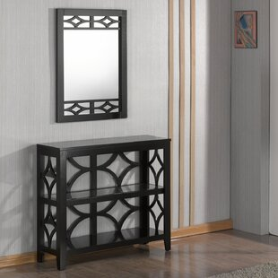 Demello Console Table and Mirror Set
