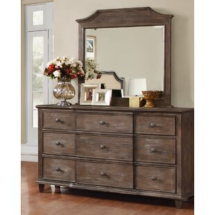Baston Dresser Drawer with Mirror by Darby Home Co