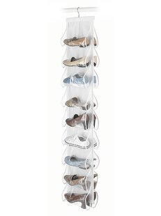 Purchase 9 Pair Hanging Shoe Organizer By Rebrilliant