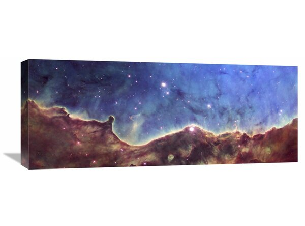 Global Gallery Hubble Image Of Ngc 3324 Painting Print On Wrapped Canvas Wayfair
