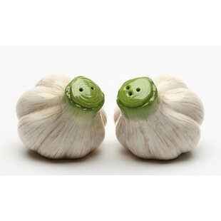 Garlic Salt and Pepper Set
