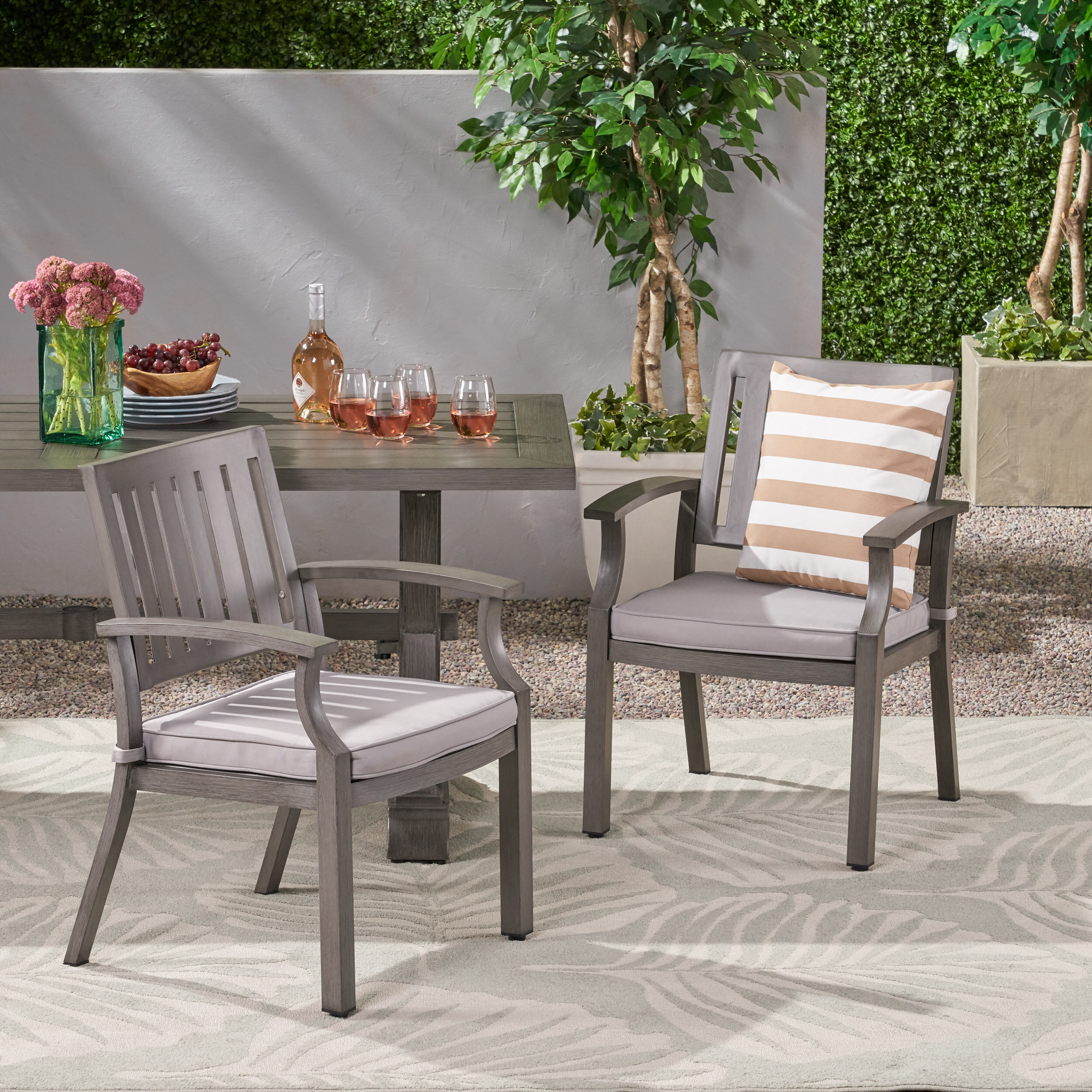 Modern Patio Dining Chair
