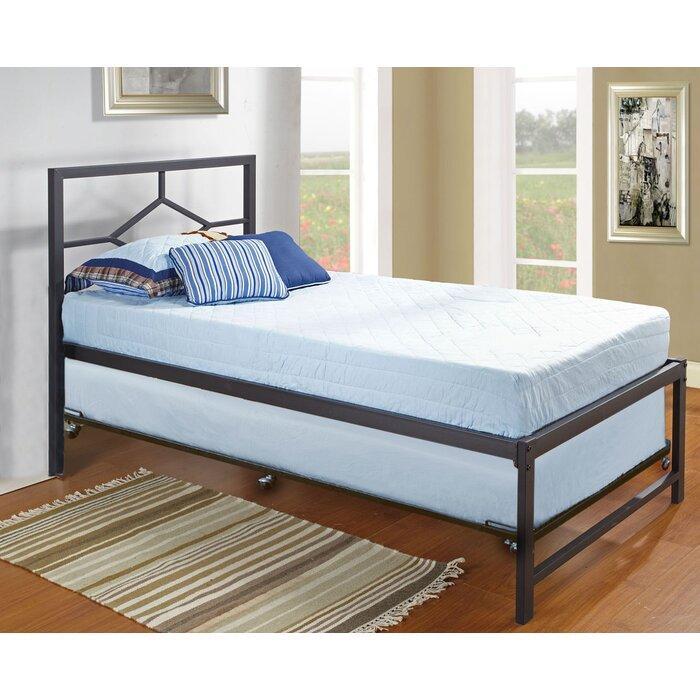 Holbrook Twin Platform Bed With Pop Up Trundle