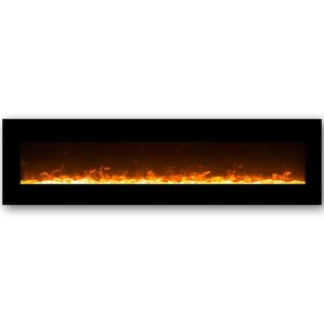 Andres Wall Mount Electric Fireplace by Orren Ellis