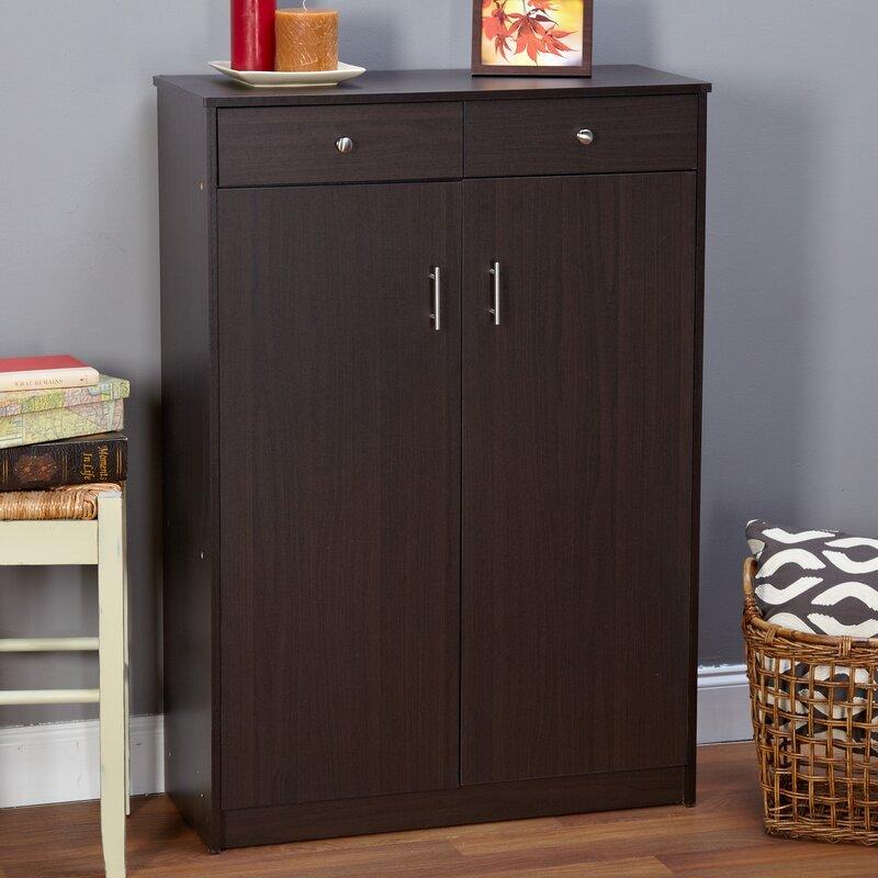 Cormiers  Pair Shoe Storage Cabinet