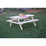 Breedlove Solid Wood Picnic Table