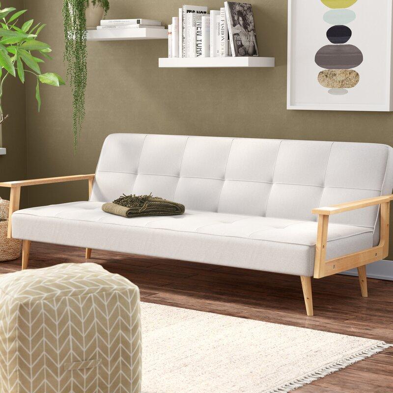George Oliver Vershire Mid Century Sleeper Sofa | Wayfair