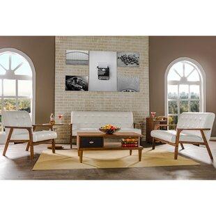 White Living Room Sets - Modern & Contemporary Designs | AllModern