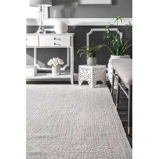Moser Hand Braided Ivory Area Rug