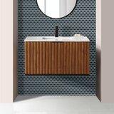 Terra 36 Wall-Mounted Single Bathroom Vanity Set by BEMMA