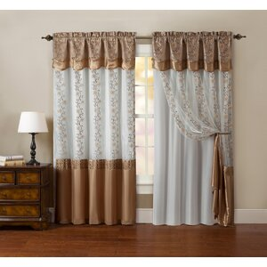 Ararat Blackout Rod Pocket Single Curtain Panel