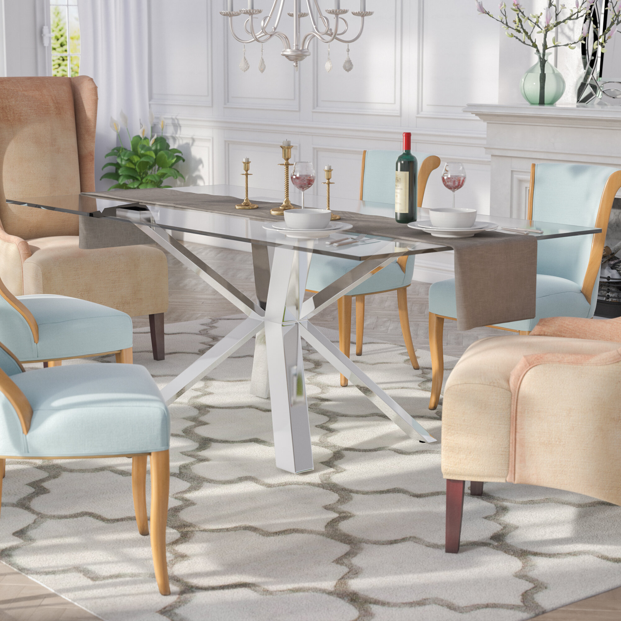 770aded3b5a4 Everly Quinn Marshall Dining Table   Reviews