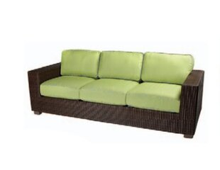 Montecito Patio Sofa with Cushions by Woodard