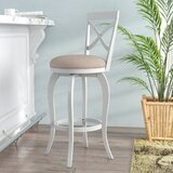Juelz Bar & Counter Swivel Stool by Highland Dunes
