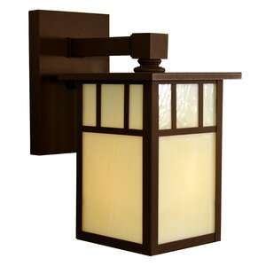Huntington 1-Light Outdoor Wall Lantern