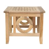 Dustin Solid Wood Side Table