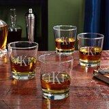 On the Rocks 12 oz. Whiskey Glass (Set of 4)