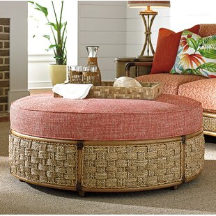 Twin Palms Cocktail Ottoman by..