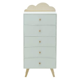 Floraville 5 Drawer Chest By Zoomie Kids