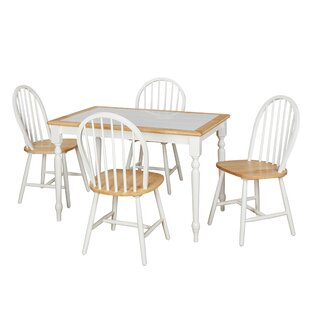 Cameo 5 Piece Dining Set August Grove
