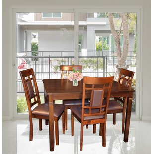 Corlett 5 Piece Dining Set