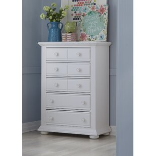 Dickens 5 Drawer Chest by Beachcrest Home