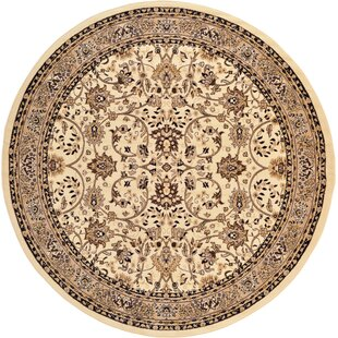 Essehoul Ivory Area Rug by World Menagerie