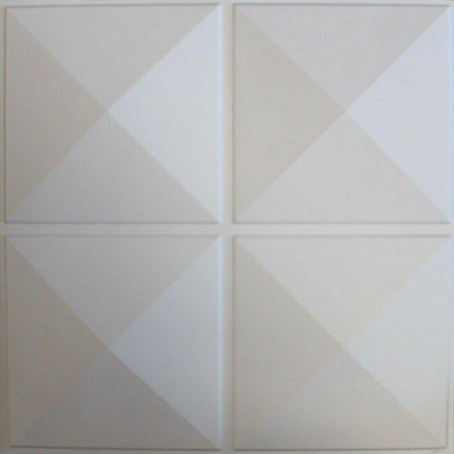 Orren Ellis Cai 19 6 X 19 6 Plant Fiber Wall Paneling In Off White Reviews Wayfair