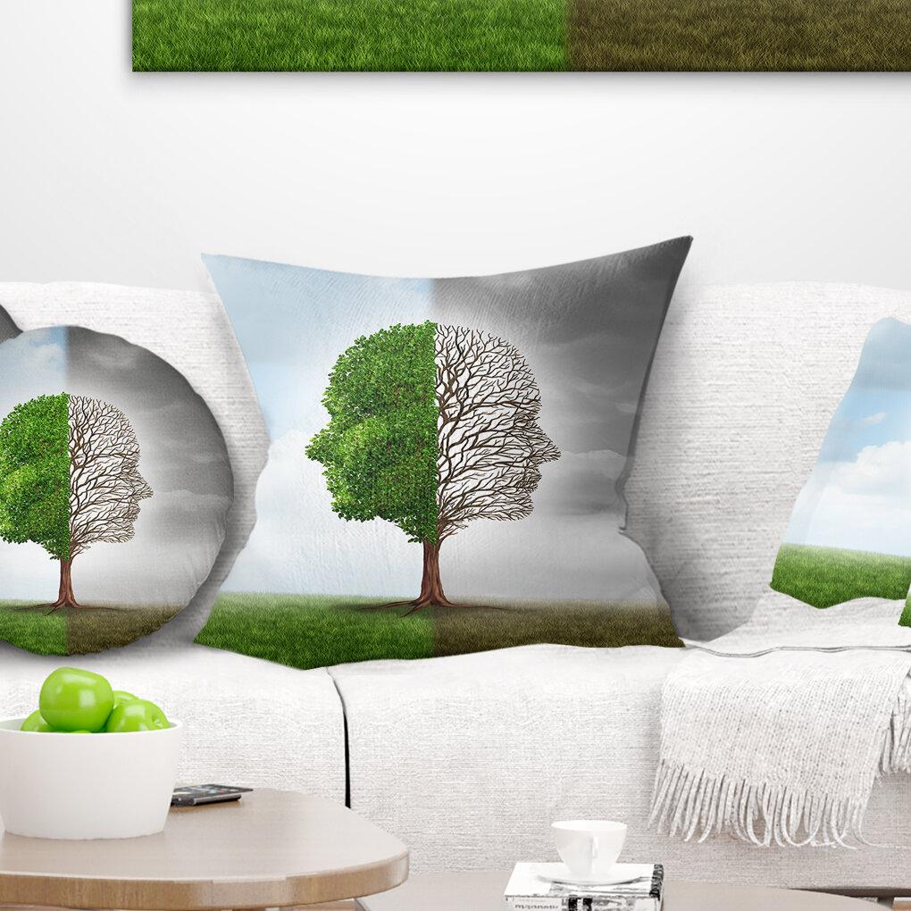 East Urban Home Human Emotion Throw Pillow Wayfair