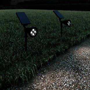 Solar Powered LED Spot Light Pack (Set of 2)