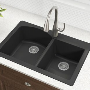 Quickview & Drop-In Kitchen Sinks Youu0027ll Love | Wayfair