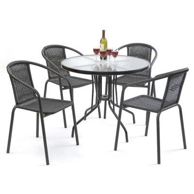 Cael 5 Piece Dining Set by Zipcode Design No Copoun