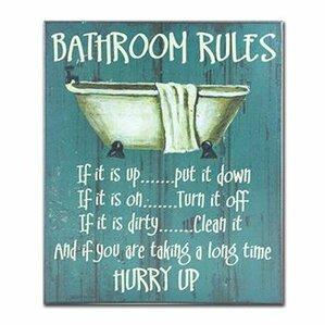 Bathroom Art bed & bath wall art