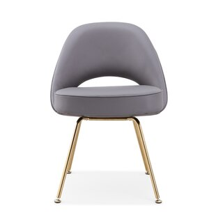 Alvis Upholstered Dining Chair by Everly Quinn
