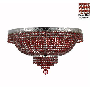 Rosdorf Park Stewart 14-Light Flush Mount