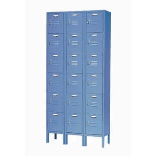 Beau 6 Tier 3 Wide Employee Locker