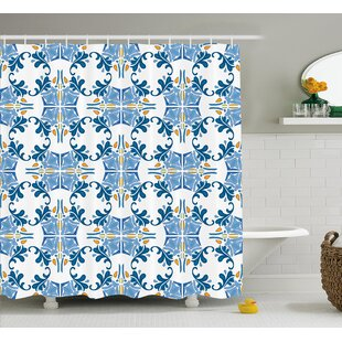 mosaic shower floor tile. Tile Mosaic Design Decor Shower Curtain Floor