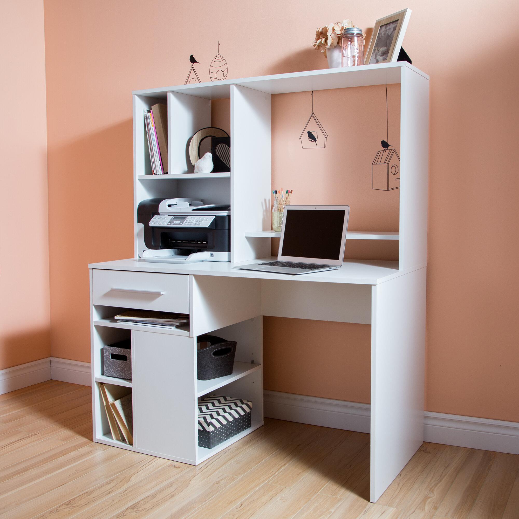 South Shore Annexe Desk With Hutch Reviews Wayfair