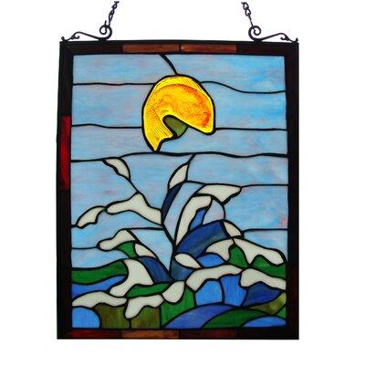 Tiffany Style Window Panel Fine Art Lighting