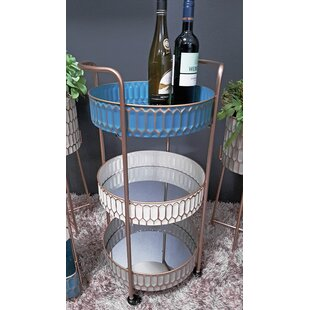 Baggs Serving Cart By World Menagerie