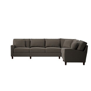 Shop William Reversible Hybrid Recliner Sectional by Wayfair Custom Upholstery™