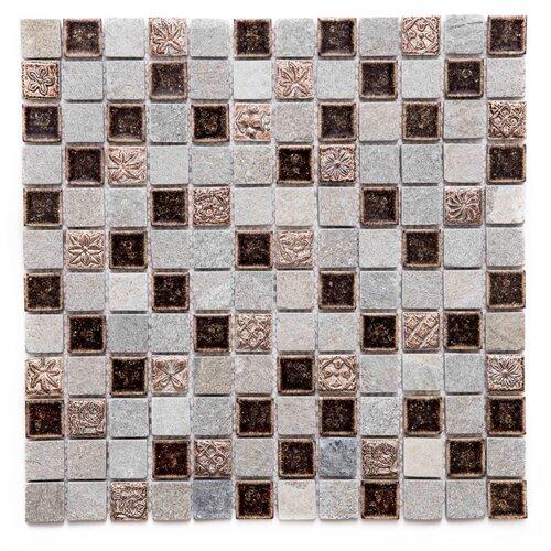 Long Island Mosaics Tile Victory Random Sized Glass Mosaic Tile Wayfair