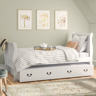 Top Lisle Sleigh Bed with Trundle by Lark Manor Reviews (2019) & Buyer's Guide