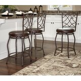 Arielle Adjustable Height Bar Stool (Set of 3) by Fleur De Lis Living