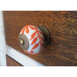 Handpainted Round Knob