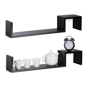 Piovarciova 2 Piece Floating Shelf Set (Set Of 2) By 17 Stories