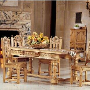 Design Toscano Sudbury Solid Pine Dining ..