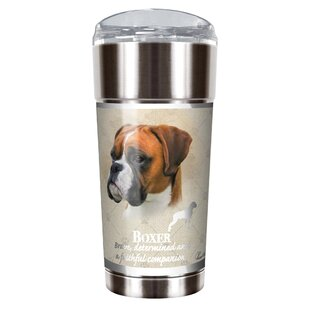 Howard Robinson's Boxer 24 oz. Stainless Steel Travel Tumbler