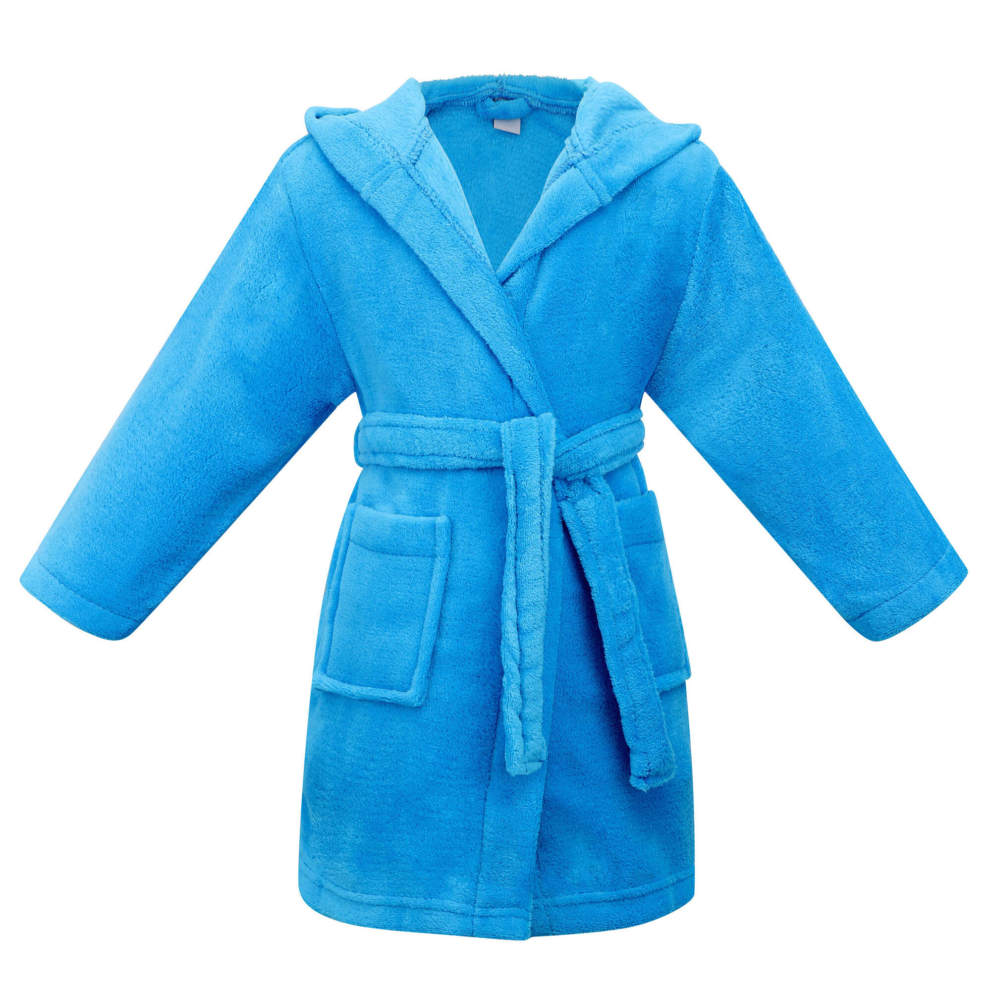 Soft Warm Kids Robe for Boys Plush Feel Bathrobe Cozy 100/% Microfleece